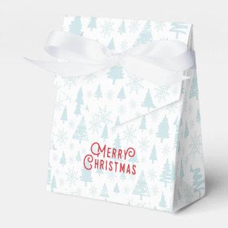 Elegant christmas tree Merry Christmas Favor Box