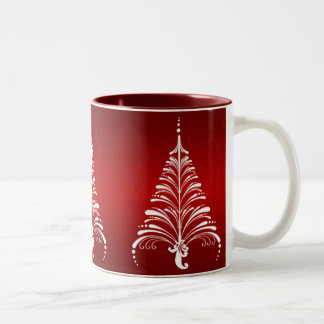Elegant Christmas Tree Mug