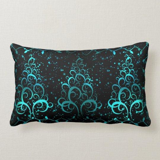 Elegant Christmas trees Lumbar Pillow