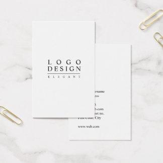 Elegant Classic & Minimalist card template -