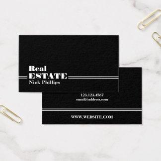 Elegant classy executive style business card