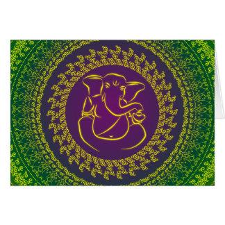 Elegant Classy Ganesh/ Indian God Card
