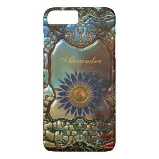 Elegant Classy Gold Metal Art Nouveau iPhone 8 Plus/7 Plus Case