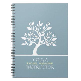 Elegant Classy Tree YOGA Studio Massage Therapy Notebooks