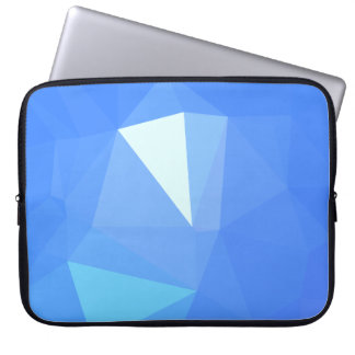 Elegant & Clean Geo Designs - Cornflower Pretty Laptop Sleeve