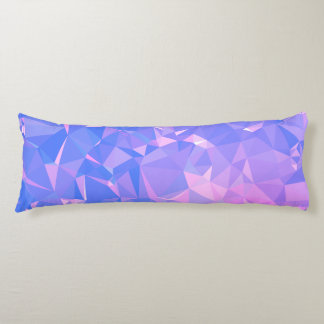 Elegant & Clean Geo Designs - Fiery Independence Body Pillow