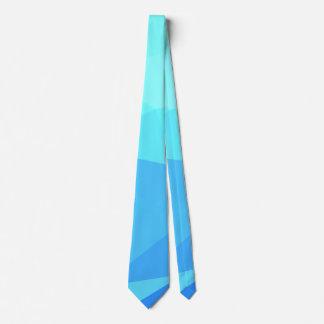 Elegant & Clean Geometric Designs - Aqua Ring Tie