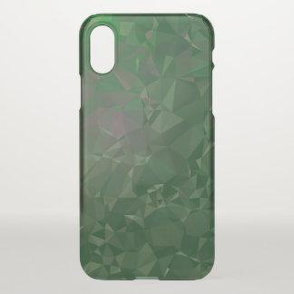 Elegant & Clean Geometric Designs - Bolden Jade iPhone X Case