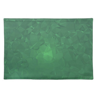 Elegant & Clean Geometric Designs - Cavern Moss Placemat