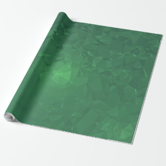 Elegant & Clean Geometric Designs - Cavern Moss Wrapping Paper