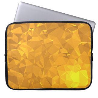 Elegant & Clean Geometric Designs - Citrine Deep Laptop Sleeve