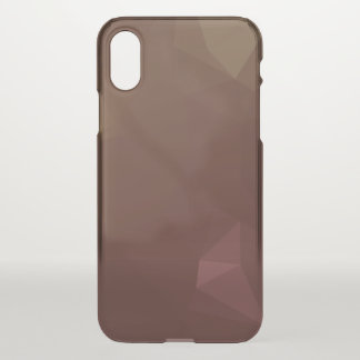 Elegant & Clean Geometric Designs - Coffee Break iPhone X Case