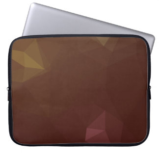 Elegant & Clean Geometric Designs - Coffee Break Laptop Sleeve