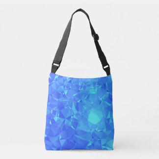 Elegant & Clean Geometric Designs - Glacier Point Crossbody Bag