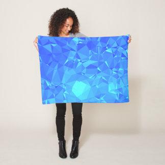 Elegant & Clean Geometric Designs - Glacier Point Fleece Blanket