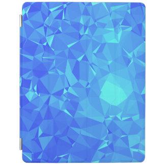Elegant & Clean Geometric Designs - Glacier Point iPad Cover