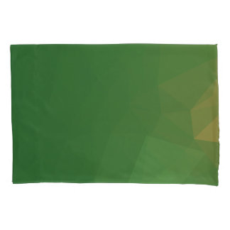 Elegant & Clean Geometric Designs - Grass Angel Pillowcase