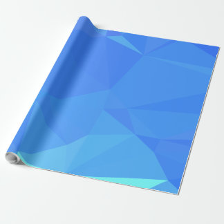 Elegant & Clean Geometric Designs - Lapis Cold Wrapping Paper