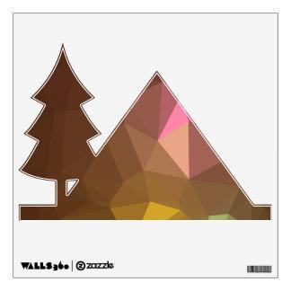 Elegant & Clean Geometric Designs - Mother Nature Wall Sticker