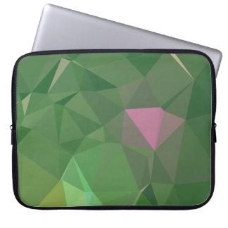 Elegant & Clean Geometric Designs - Peridot City Laptop Sleeve