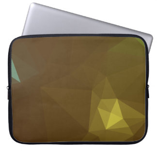 Elegant & Clean Geometric Designs - Pyrite Laptop Sleeve