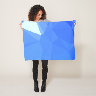 Elegant & Clean Geometric Designs - Sail Sea Fleece Blanket