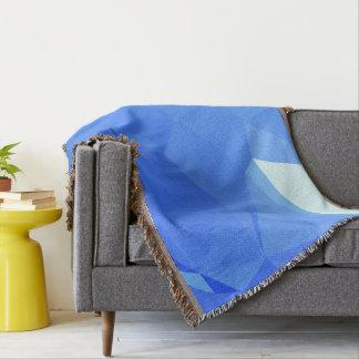 Elegant & Clean Geometric Designs - Sail Sea Throw Blanket