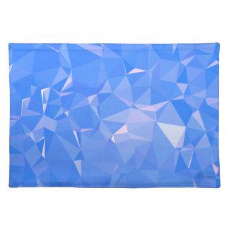 Elegant & Clean Geometric Designs - Sapphire Cool Placemat
