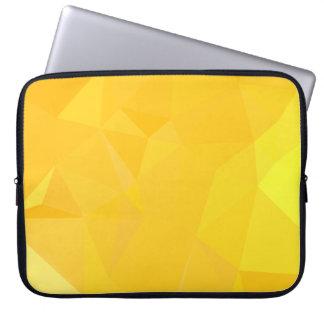 Elegant & Clean Geometric Designs - Topaz Ink Laptop Sleeve