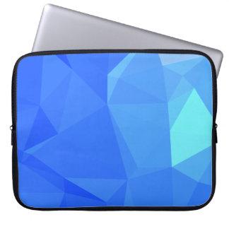 Elegant & Clean Geometric Designs - Topaz Night Laptop Sleeve