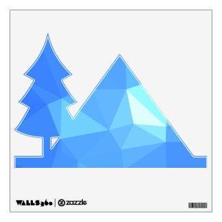 Elegant & Clean Geometric Designs - Water Twinkle Wall Decal