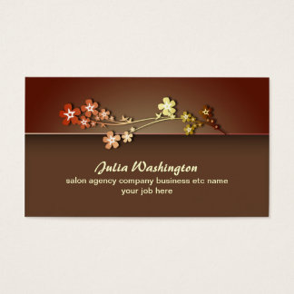elegant clean style business card