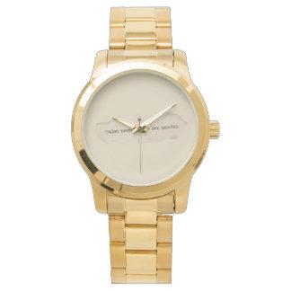 Elegant clock for lady watch