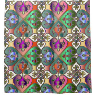 Elegant Colorful Arabesque Abstract Personalized