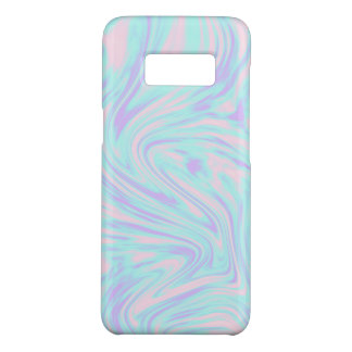 elegant colorful pink blue purple white marble Case-Mate samsung galaxy s8 case