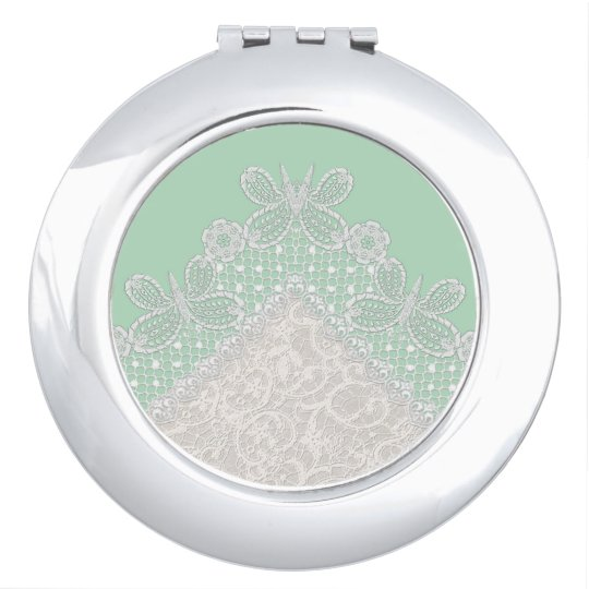 Elegant Compact Makeup Mirror