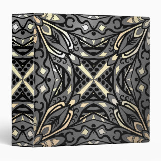 Elegant complicated moroccan ornament. 3 ring binder