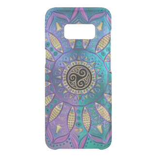 Elegant Cool Hued Mandala Celtic Triskele Uncommon Samsung Galaxy S8 Case