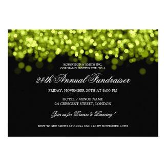 Elegant Corporate Fundraiser Lime Lights Announcement