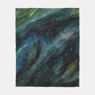 Elegant Cosmos Watercolor Fine Art Mason Ingrassia Fleece Blanket