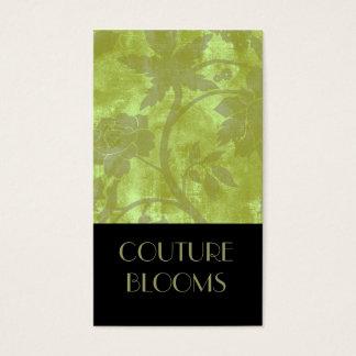Elegant Couture Florist Business Card