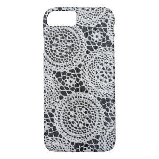 Elegant crochet iPhone 7 case