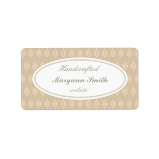 Elegant Custom Handcrafted Labels