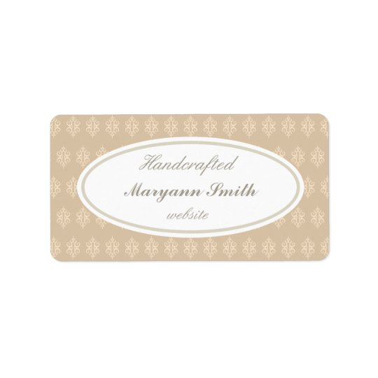 Elegant Custom Handcrafted Labels