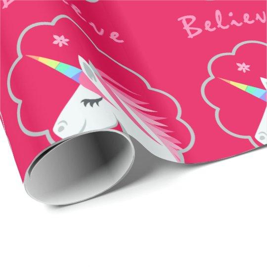 elegant cute believe in unicorns emoji