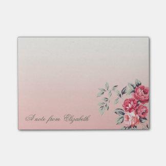 Elegant Cute Stylish Girly , Flowers Post-it Notes