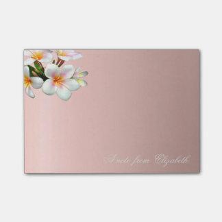 Elegant Cute Stylish Girly Flowers Post-it Notes