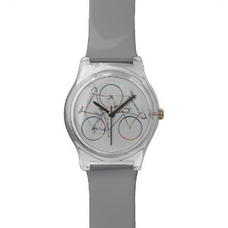 elegant cycling hour watch