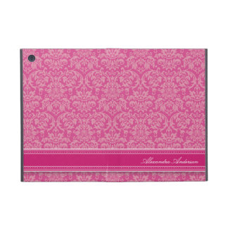Elegant Damask iPad Mini Case (fuchsia)