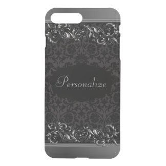 Elegant Damask Metallic Accents iPhone 8 Plus/7 Plus Case